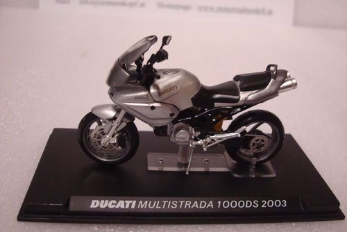 Multistrada 1000 DS 2003 silber