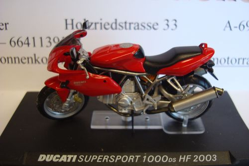 Supersport 1000 DS HF 2003 rot