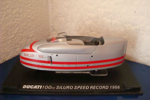 100 cc Siluro Speed Record 1956