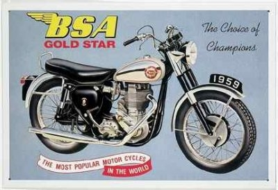 BSA Gold Star  1959
