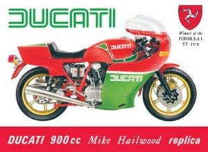 Ducati 900 cc Mike Hailwood