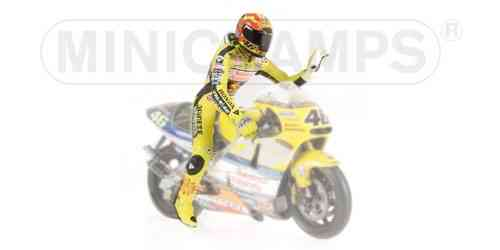 VALENTINO ROSSI  Siting GP 500 2001 - 7446 pcs.