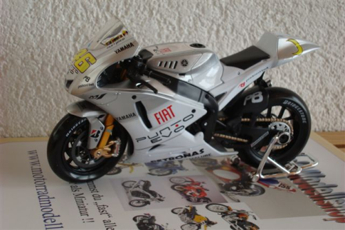 Yamaha YZR M 1 Fiat Estoril (2009)
