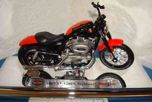 2007 XL 1200 N Nightster Serie 31
