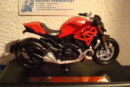 Monster 1200 - 2014 rot