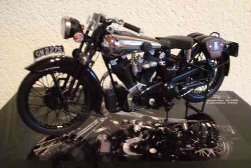 "Brough Superior SS100 ""T.E."