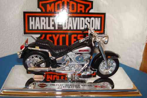 1986 FLST Haritage Softail Evolution