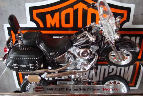 2002 FLSTC Heritage Softail Classic Serie 32