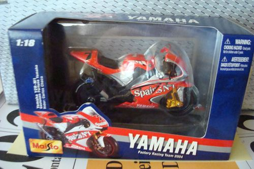 Yamaha M 1 Spains No 1 2004