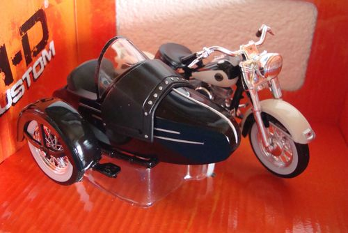 1958 FLH Duo Glide Sidecar