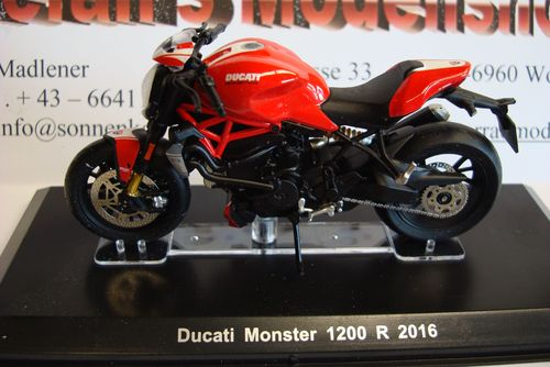 Monster 1200 R - 2016 rot