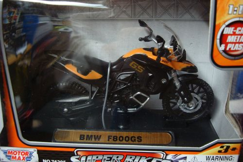 F 800 GS 2008 orange - schwarz
